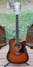 Washburn D34SCE/TS Augusta Reserved Edition Deluxe Premium Acoustic/Electric