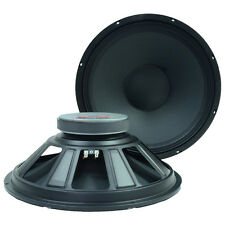"2 15"" Raw Speakers/Woofers Replacement PRO AUDIO  PA/DJ"