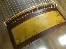 "53"" Travel 21-String Rosewood Guzheng, Chinese Zither Harp Instrument, Koto"