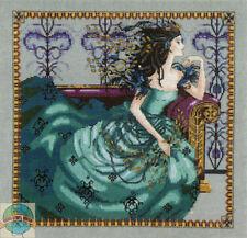 Cross Stitch Chart / Pattern ~ Mirabilia Queen Cassiopeia Greek Mythology #MD131