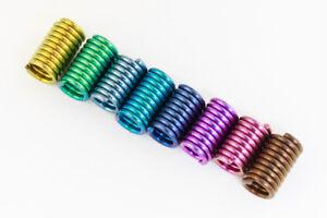 5mm x 3mm Color Mix Niobium Fat Coil (96 Pcs) #NFX113-F