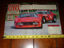 1984 FERRARI GTO - ORIGINAL ARTICLE