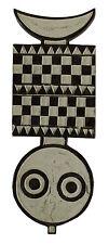 Masque planche Bwa Bobo Nwantantay polychrome  Burkina Faso - 6340 -