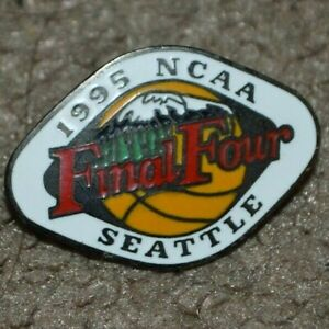 Vtg 1995 NCAA Final Four Seattle Basketball Pin Rare Style