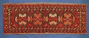 FULL PILE Colorful Antique ERSARI TURKOMAN Ikat-inspired design Wedding Trapping