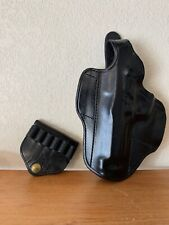 Don Hume H721 Conceal Carry Double Nine Thumb Break Leather Belt Slide Holster
