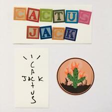 Astroworld Cactus Jack Rodeo Travis Scott Vinyl Sticker Pack (3 Stickers)