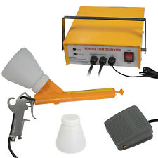 Electric Powder Coating Systemauto Body Coat Machine Paint Gun Kit Pc03 5 110v