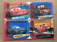 Birthday Card Disney Cars Movie String Of Rhinestones Primary Colors  Handmade