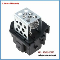 Radiator Fan Cooling Resistor For Citroen C4 Berlingo C4 Picasso 9649247680