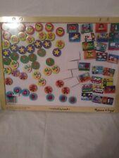Melissa & Doug Magnetic Responsibility and Chore Chart, Developmental Toys, E.