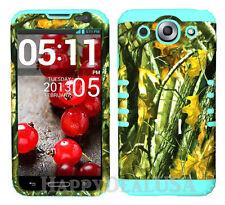 KoolKase Hybrid Silicone Cover Case for LG Optimus G Pro E980 - Camo Mossy 08