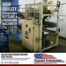 Gallon case packing machine, case packer, packaging machine, bottling machine
