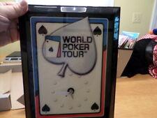 New World Poker Tour Clock Mancave Poker Room Wall Clock