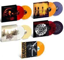 Soundgarden 5xLP Louder/Badmotor/Super/Down/King Ltd RM Colored Vinyl LIKE NEW!!