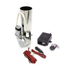 """3"""" 76mm Remote Electric Exhaust Catback I-Pipe Cutout System Wireless Valve Kit"""