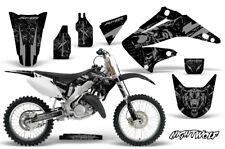 Honda CR125 CR250 Dirt Bike Graphic Sticker Kit MX Decal Wrap 02-08 NIGHTWOLF S