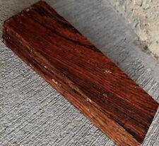 Cocobolo Lumber 5x1.5x1 Woodworking Knife Handles Duck Calls Gun Grips