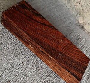 Cocobolo Holz 5x1.5x1 Holzverarbeitung Messer Griffe Ente Ruft Pistole Griffe