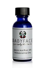 Babyface 30% Salicylic Acid BHA Chemical Peel, Acne Blackheads Pore Reducer