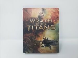 Wrath of the Titans - SteelBook (Blu-ray) TESTED Fast Shipping