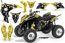 ATV Graphics Kit Quad Decal Sticker Wrap For Honda TRX700XX 2009-2015 REAPER YLW