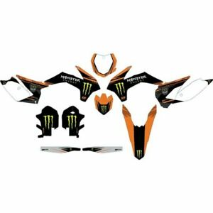 D'COR Visuals Monster Energy Complete Graphic Kit - 20-30-208