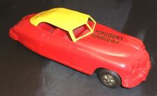 1940's Marx Packard Yellow/Red Fire Chief Friction Car-Works!