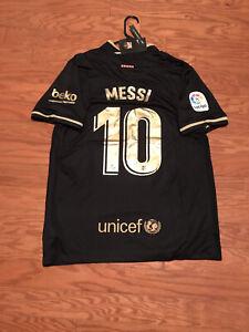 new 2020/2021 Lionel Messi Barcelona away jersey size XXL