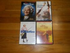 Robin Williams Dvd Mrs Doubtfire/what dreams may come/one hour photo/man of year