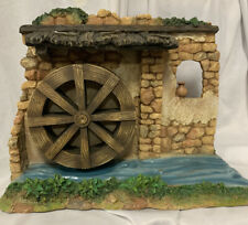 "Fontanini ~ Watermill With Rotating Wheel (for 5"" village)- Boxed- 55562"