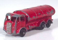 """Vintage Lesney ERF Petrol Tanker Truck 2.5"""" Diecast Scale Model Black Wheels"""