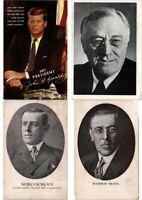 U.S.A PRESIDENTS POLITICS 78 Vintage Postcards Mostly pre-1940