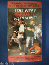 NEW You Got Served: Take It To The Streets (VHS, 2004) 043396057821