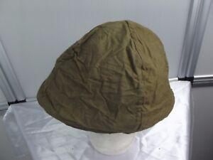 11) Frankreich militaire francais Adrian-Helm WW II Stahlhelm-Überzug original