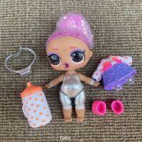 LOL Surprise Doll Glitter Globe Winter Disco Figure 8 Ice Skate Xmas Gift Rare