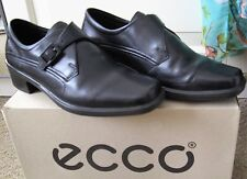 ECCO Smart Buckle Fastening Womens Shoes - Black - Brand New - Size 3/36