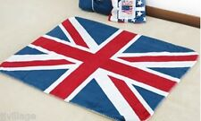 """Union Jack UK Flag Throw Blanket 40*30"""" 100*75 cm fleece-like micofiber"""