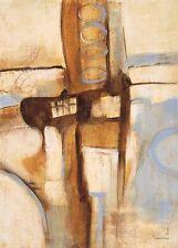 Gabriela Villareal: Mid Century 1 Fertig-Bild 50x70 Wandbild Abstrakt modern