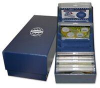 X2 Aluminum Slabs Cargo Boxes Safe Storage Transportation Cases Coin Show 2 LOT