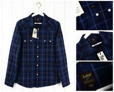 Camisas y polos de hombre Lee color principal azul 100% algodón