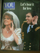 THE ROYAL WEDDING - PRINCE ANDREW AND SARAH FERGUSON - YOU MAGAZINE SPECIAL