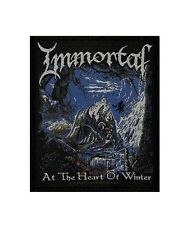 IMMORTAL - AT THE HEART OF WINTER - WOVEN PATCH - BRAND NEW - MUSIC BAND 2368