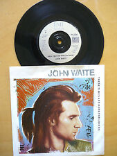 JOHN WAITE  = THESE TIMES ARE HARD FOR LOVERS / WILD ONE - EMI 1987 - EX. VINYL