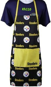 Pittsburgh Steelers NFL Printed Tailgating Apron