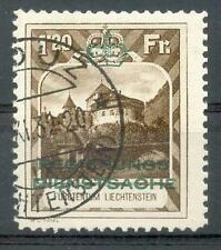 LIECHTENSTEIN DIENST 1932 8B gest 460€(F7720