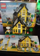 Lego Creator Beach House (4996) complete with box and manuals