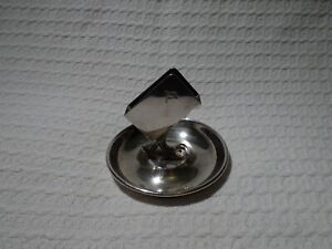 Alfred Holt Blue Funnel Shipping Line Silver Plate Ashtray Matchbox Holder