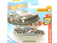 Hotwheels 2005 Ford Mustang HW Game Over 44/250 Short Card 1 64 Scale Sealed New
