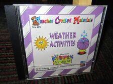Weather Activities Pc Cd-Rom By Broderbund, Kid Pix Activity Kit,Teacher Created